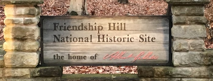 Friendship Hill National Historic Site is one of National Parks.