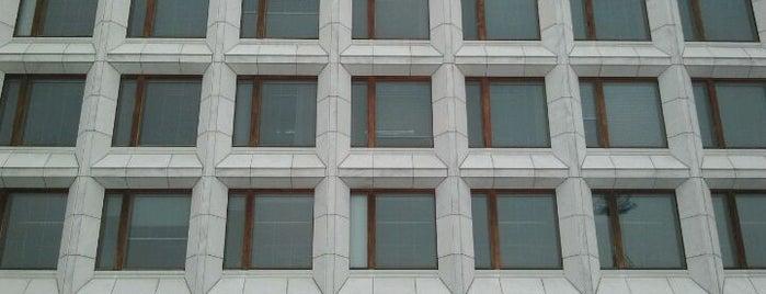 Enso Gutzeit Oy:n pääkonttori 1959-62 is one of Alvar Aalto.