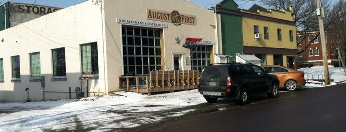 August First Bakery is one of Burlington's Best Food & Drink.