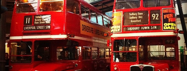 London Transport Museum is one of Places to visit.