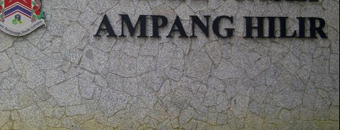 Taman Tasik Ampang Hilir is one of Favorite Great Outdoors.