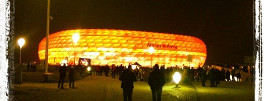 Allianz Arena is one of I Love Munich, munich#4sqCities.