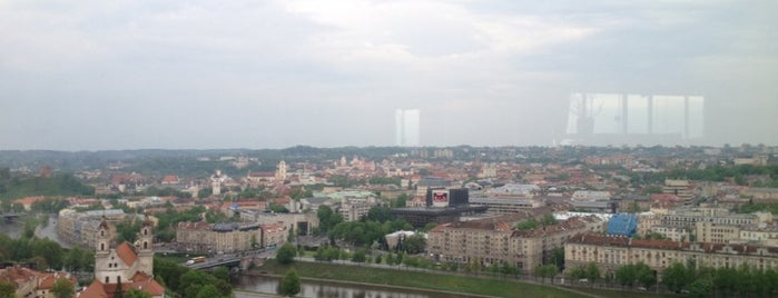 Skybar is one of Vilnius: student edition.