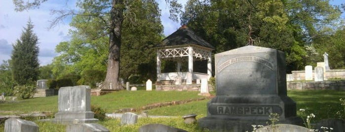 Decatur Cemetery is one of To Rivendell We Go!.