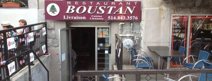 Boustan is one of Resto Mtl 101.