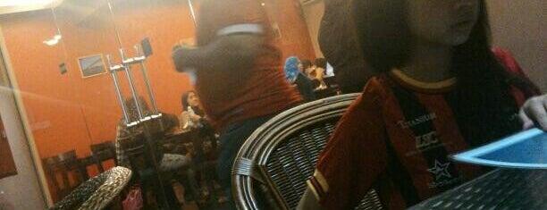 The Bulatan Cafe is one of like.