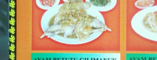 "Ayam Betutu Khas Gilimanuk is one of Bali ""Jaan"" Culinary."