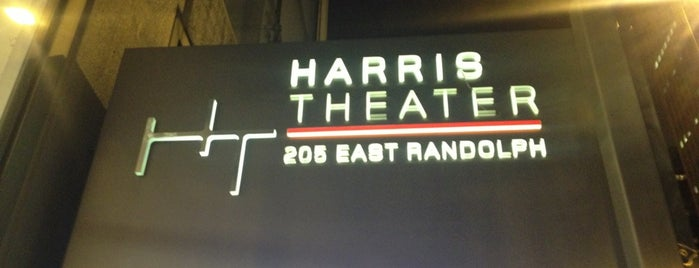 Harris Theatre for Music and Dance is one of Culture in the Loop.
