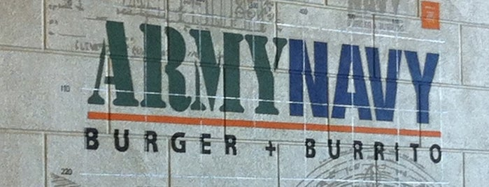 Army Navy Burger + Burrito is one of Restaurants.