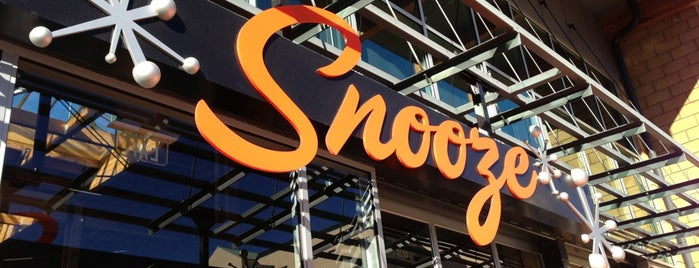 Snooze is one of San Diego Eats.
