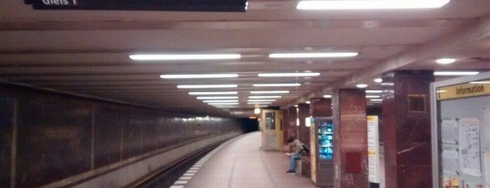 U Mohrenstraße is one of U-Bahn Berlin.
