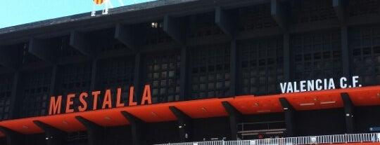 Camp de Mestalla is one of Stadiums.