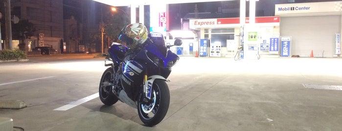モービル Express 甲子園SS is one of 兵庫県阪神地方南部のガソリンスタンド.