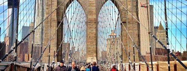 "Brooklyn Bridge Promenade is one of ""Be Robin Hood #121212 Concert"" @ New York!."