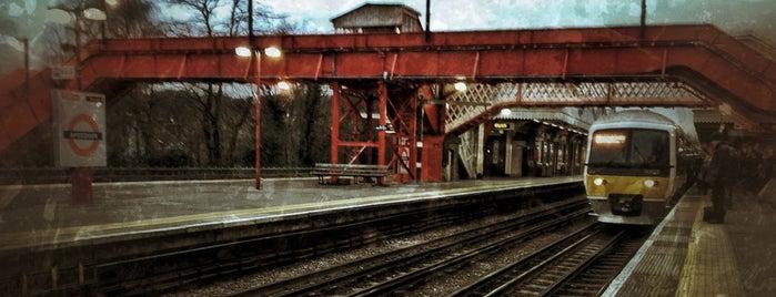 Amersham London Underground Station is one of Tube Challenge.