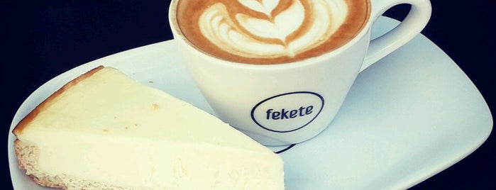 fekete is one of Budapest Coffee Guide.