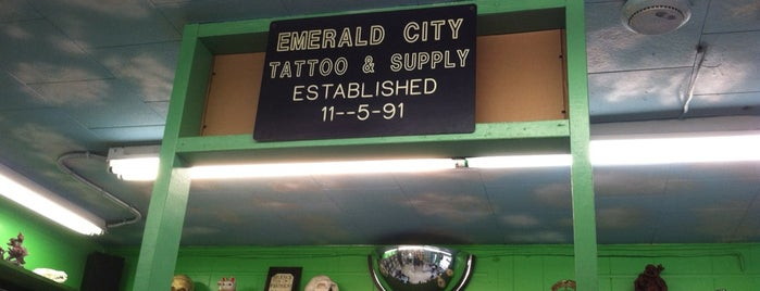 Emerald City Tattoo & Supply is one of Errands.