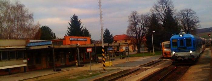 Železniční stanice Újezdec u Luhačovic is one of Železniční stanice ČR: Š-U (12/14).