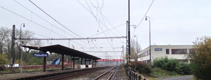 Železniční stanice Třebušice is one of Železniční stanice ČR: Š-U (12/14).