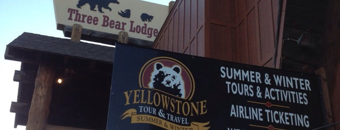 Three Bear Lodge is one of Our Favorites.