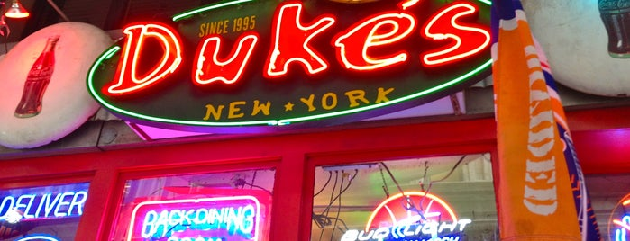 Duke's is one of Flatiron Schmancy Sitdown Lunches.