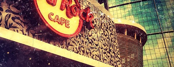 Hard Rock Café is one of Explore Dubai.