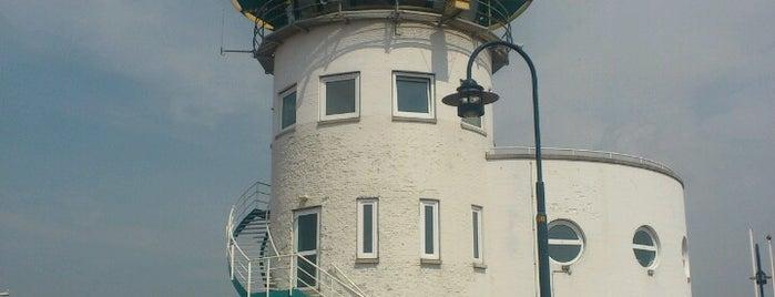 Vuurtoren van Harlingen is one of Lighthouses.