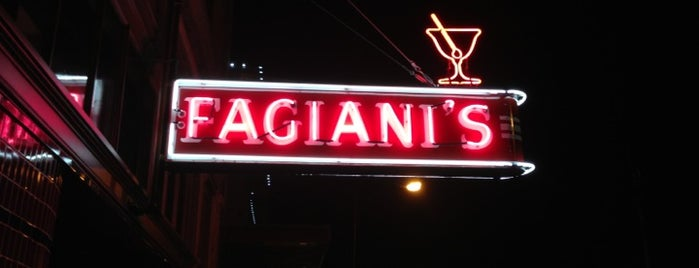 The Thomas and Fagiani's is one of Nightlife in Downtown Napa.