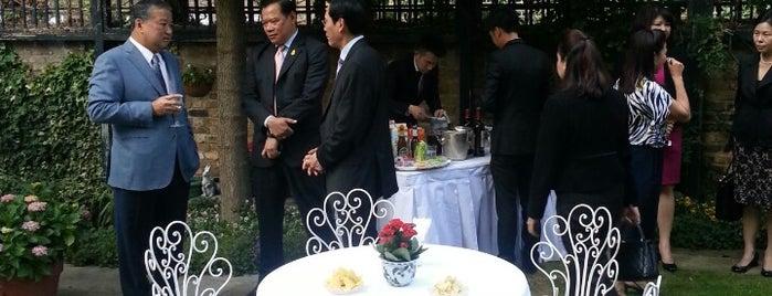 Royal Thai Embassy (สถานทูตไทย ณ กรุงลอนดอน ประเทศอังกฤษ) is one of My United Kingdom Trip'09.