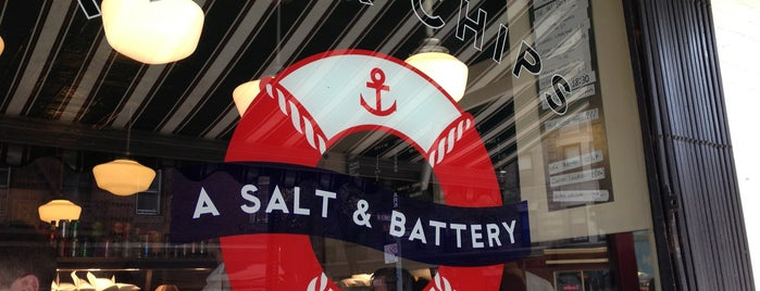 A Salt & Battery is one of Unravel New York.
