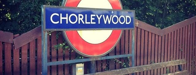 Chorleywood London Underground Station is one of Tube Challenge.