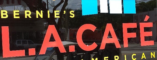 Bernie's L.A. Cafe is one of My favorite places :).