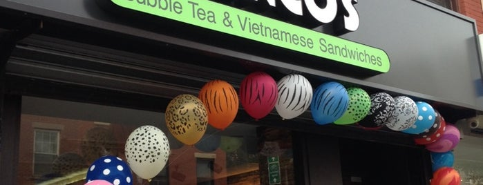 Hanco's Bubble Tea & Vietnamese Sandwich is one of NYC casual eats.