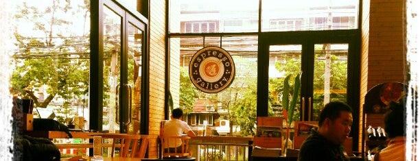 espresso gallery (เอสเปรสโซแกลเลอรี) is one of Coffeelover ♪(´ε` ).