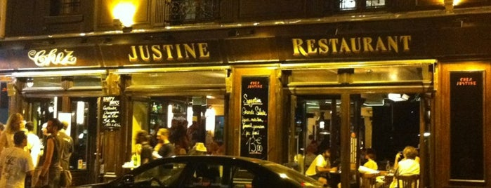 Chez Justine is one of Paris // For Foreign Friends.