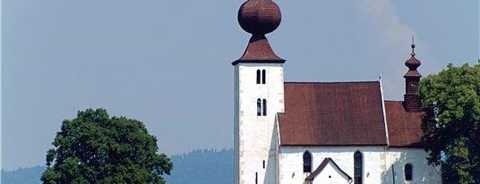 Kostol Ducha svätého is one of UNESCO Slovakia - kultúrne/prírodné pamiatky.