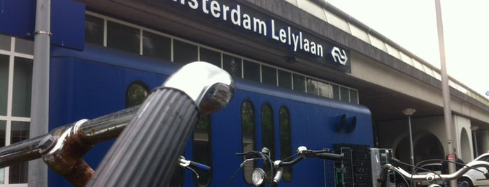 Station Amsterdam Lelylaan is one of Alle Amsterdamse Metrostations.