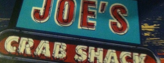 Joe's Crab Shack is one of BARS.