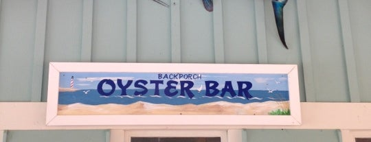Back Porch Oyster Bar is one of Good Restaurants.