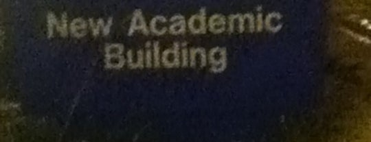 New Academic Building is one of Common places I go.