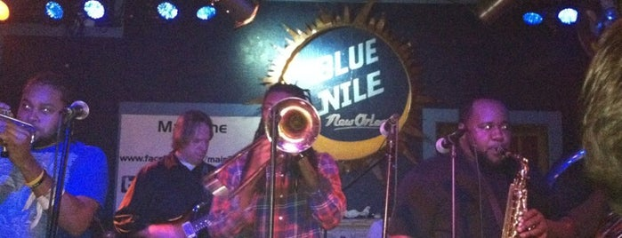 Blue Nile is one of New Orleans City Badge - The Big Easy.