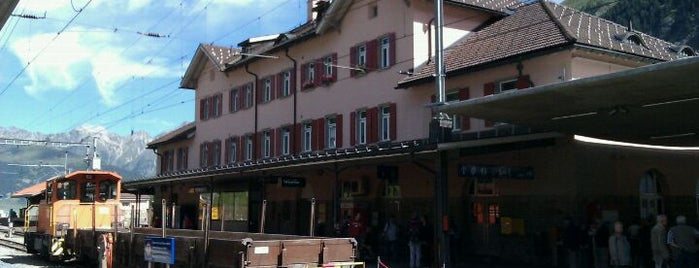 Bahnhof Pontresina (RhB) is one of Bahnhöfe Top 200 Schweiz.