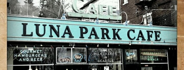 Luna Park Cafe is one of West Seattle Dining.