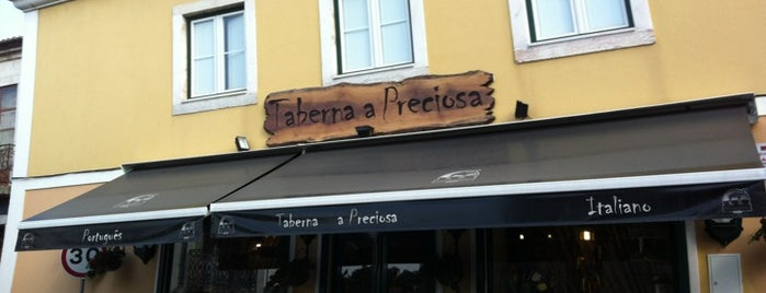 Taberna da Preciosa is one of Restaurantes Lisboa.