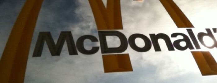 McDonald's is one of Recycle Hotspots.