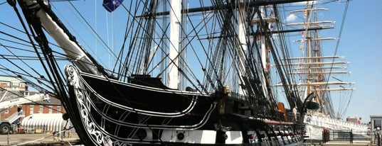USS Constitution is one of BOS.