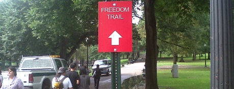 The Freedom Trail is one of BUcket List.