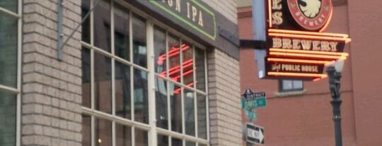 Deschutes Brewery & Public House is one of Portland City Badge - Bridgetown.