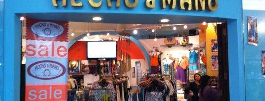 Hecho A Mano is one of Tiendas en PLAZA.