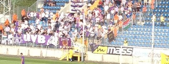 ZTE Aréna is one of Stadionok.